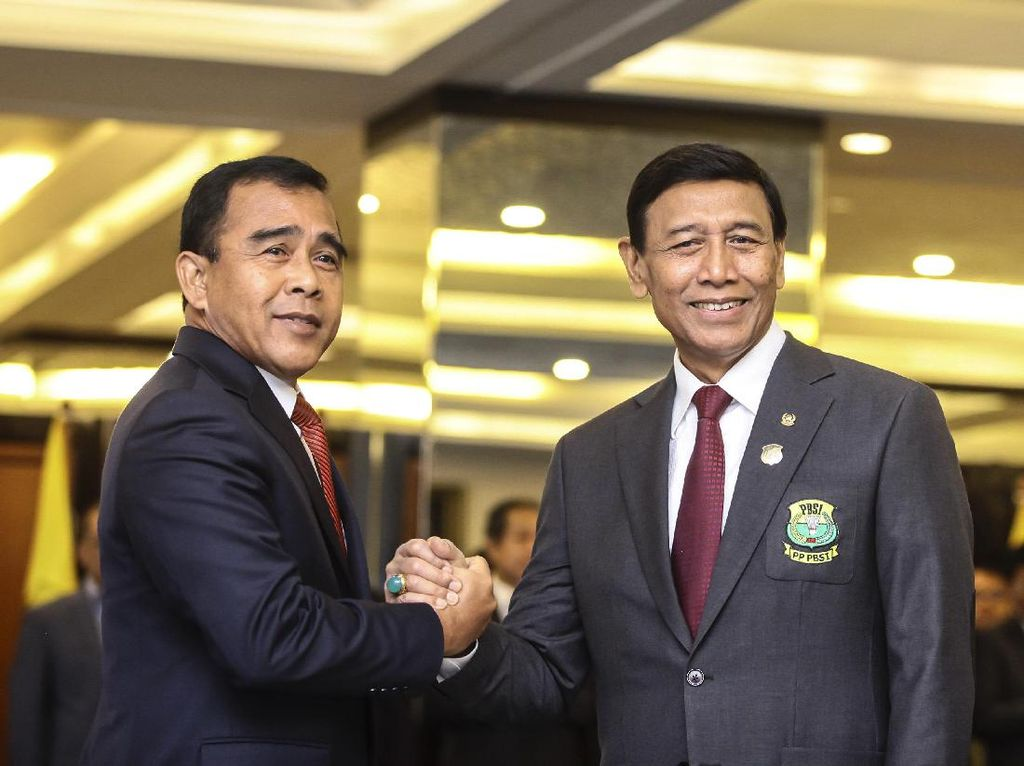 Ketum PBSI Wiranto Jadi Korban Penusukan, Ini Kronologinya