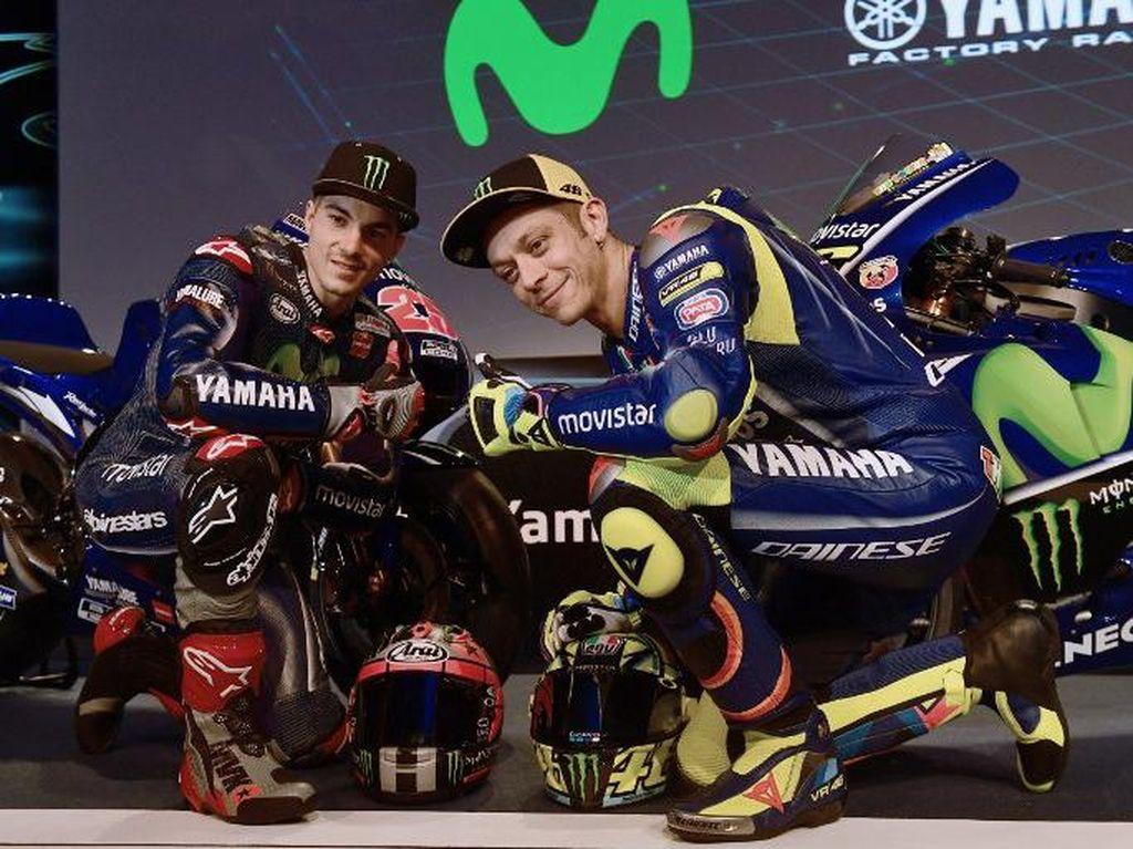 Rekanan dengan Rossi Tak Sesulit yang Dibayangkan Vinales