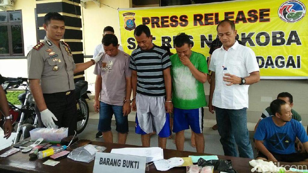 Asyik Isap Sabu, PNS di Sergai Sumut Dibekuk Polisi