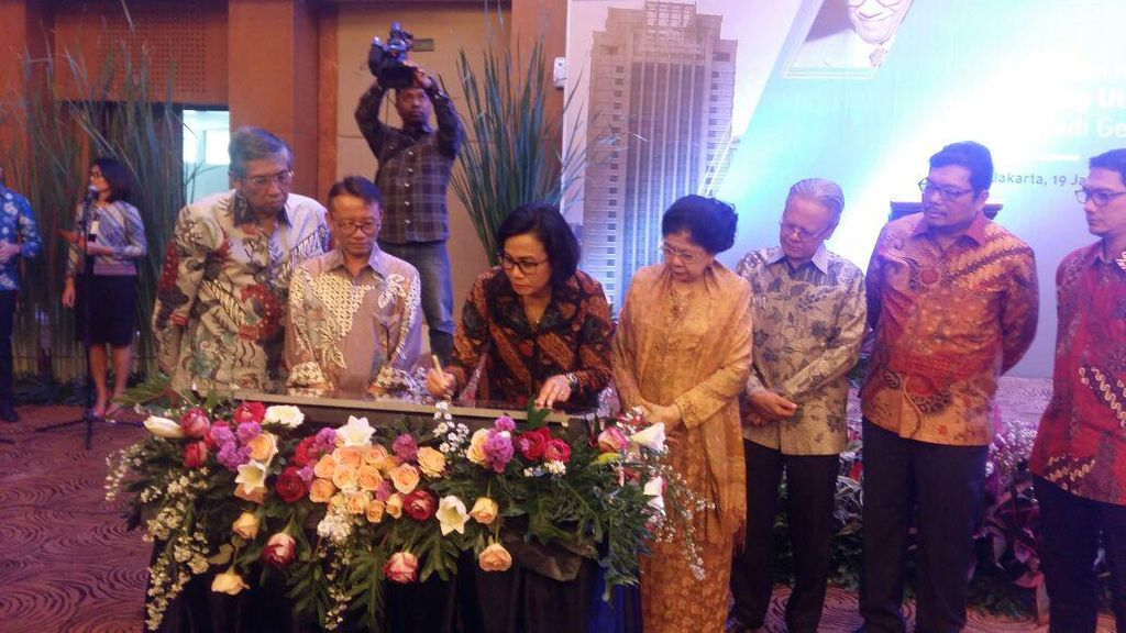 Sri Mulyani Abadikan Marie Muhammad Jadi Nama Gedung Pajak