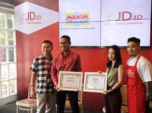 JD.ID Gandeng Maxim Housewares Jadi Mitra Sepanjang 2017