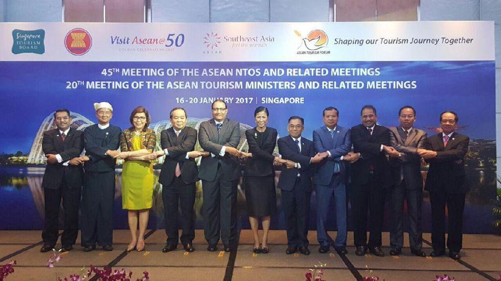 Negara ASEAN Bergandeng Tangan, Jadi Satu Destinasi Menjanjikan