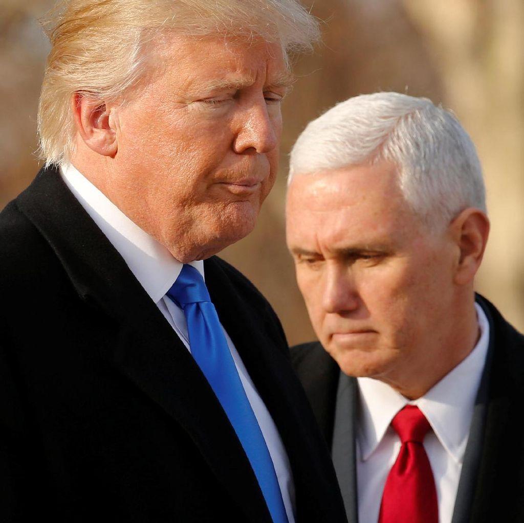 Saksikan Live Streaming Pelantikan Donald Trump di detikcom