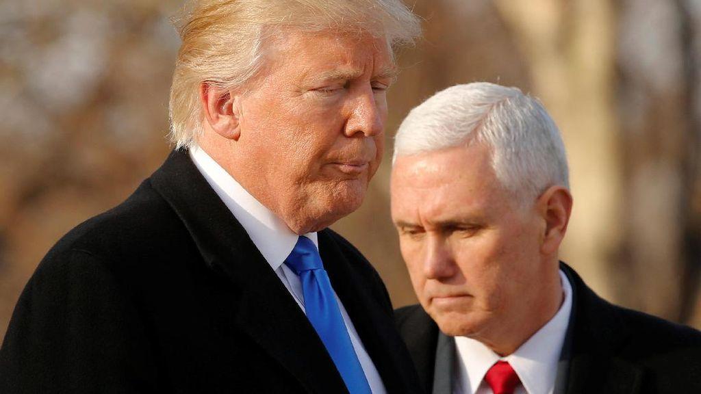 Donald Trump Dilantik Jadi Presiden AS