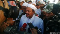Habib Rizieq Siap Penuhi Panggilan Polda soal Kasus Palu-Arit