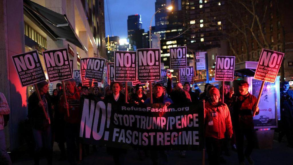 Protes Pelantikan Trump, Berikut Aksi Protes di Beberapa Negara