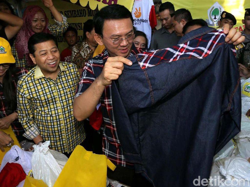 Ahok Hadiri Pasar Murah 'Syukuran Jakarta'