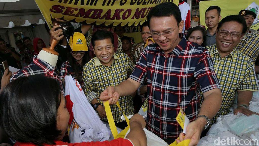 Ahok: Pasar Rakyat Golkar Tangkal Stigma Adanya Mahar ke Partai