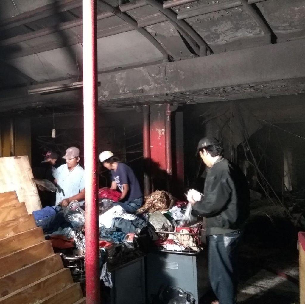 Polisi Pergoki 4 Pria yang Diduga Ingin Menjarah Pasar Senen