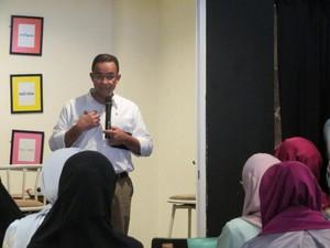 Anies Janji Jakarta Bebas Diskriminasi terhadap Hijabers
