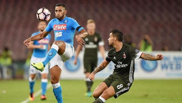 Napoli Sedang Dominan atas <i>Rossoneri</i>