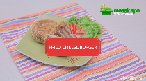 Resep Fried Cheese Burger