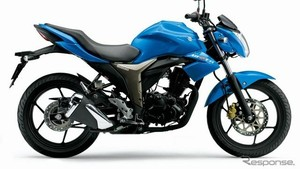 Motor Sport Gixxer dari Suzuki