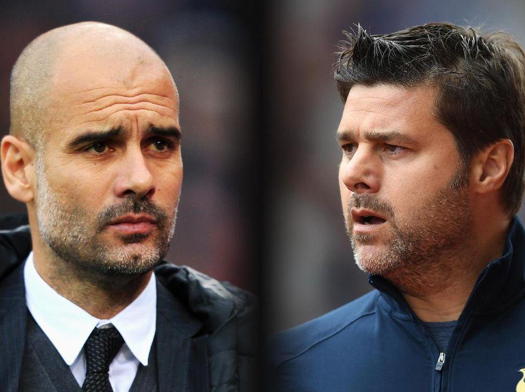 Tottenham vs Man City: Head to Head Pochettino vs Guardiola