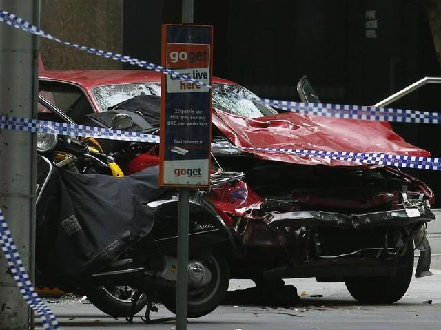 Mobil Tabrak Pejalan Kaki di Australia Tiga Orang Tewas