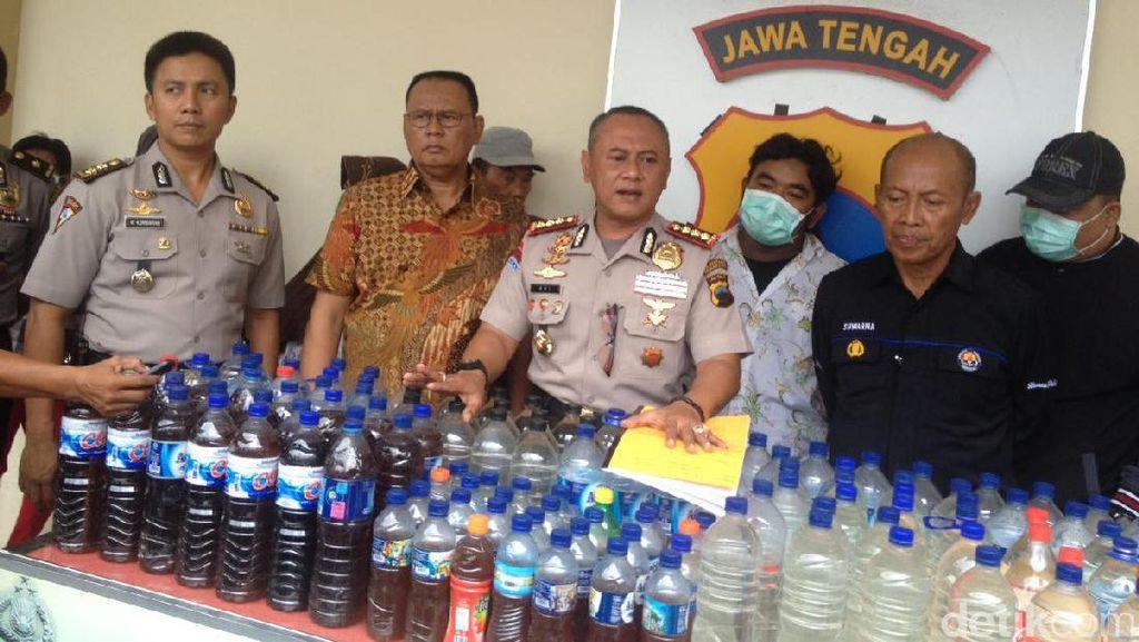 Polisi Tangkap Penjual dan Sita 733 Liter Miras di Semarang