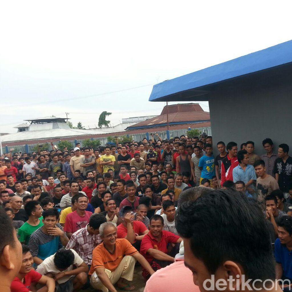 Protes Aturan PB hingga Mi Instan, Napi Lapas Jambi Berdemo