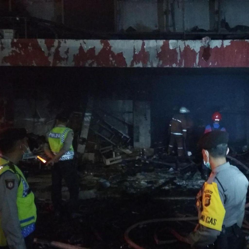 Pasar Senen Terbakar, Pemprov Jamin Pedagang Dapat Kios Sementara