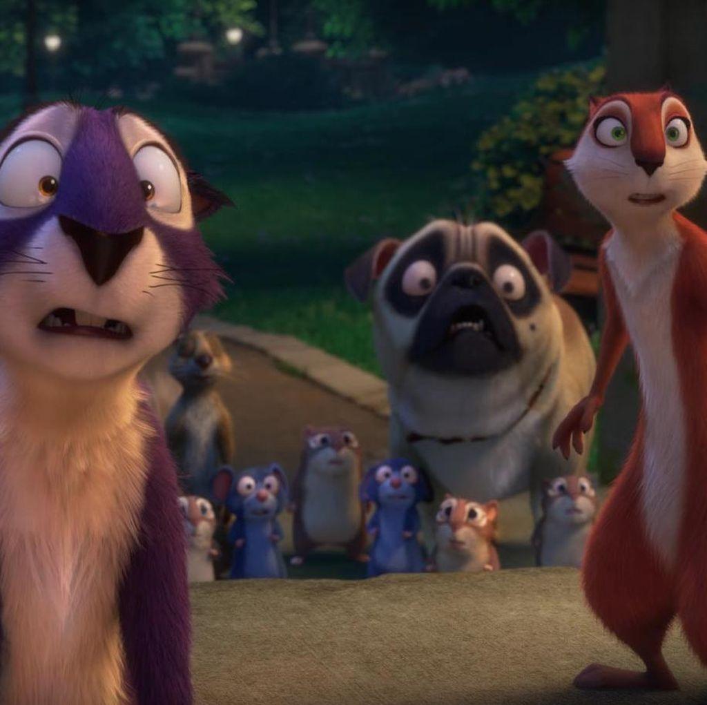Surly dan Kawan-kawan Kembali dalam The Nut Job 2