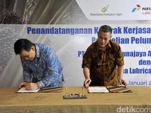 Pertamina Lubricants Dukung Pertumbuhan Pabrik Sawit RI