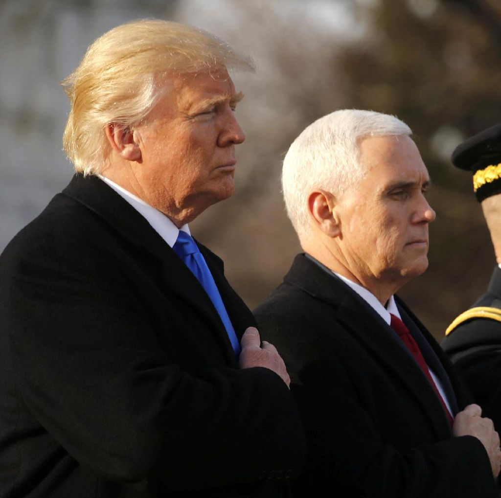 Donald Trump Menyusun Sendiri Pidato Pelantikannya