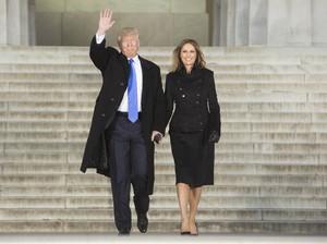 Foto: Penampilan Melania dan Ivanka Trump Jelang Inaugurasi