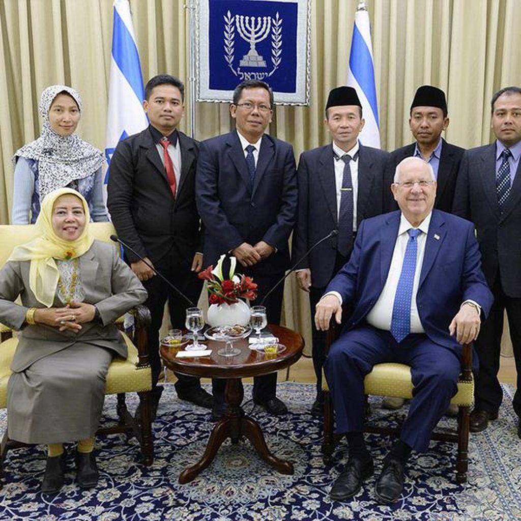 Ini yang Disampaikan Presiden Israel ke Pejabat MUI