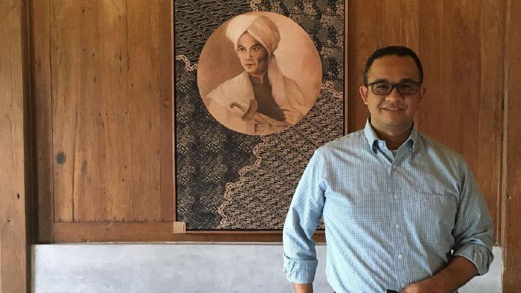 Idolakan Pangeran Diponegoro, Anies: Inspirasi Melawan Penggusuran