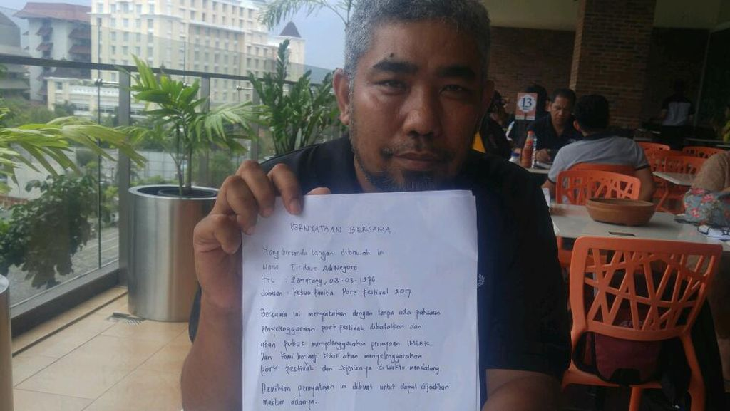 Pork Festival 2017 di Semarang Ganti Nama karena Diprotes