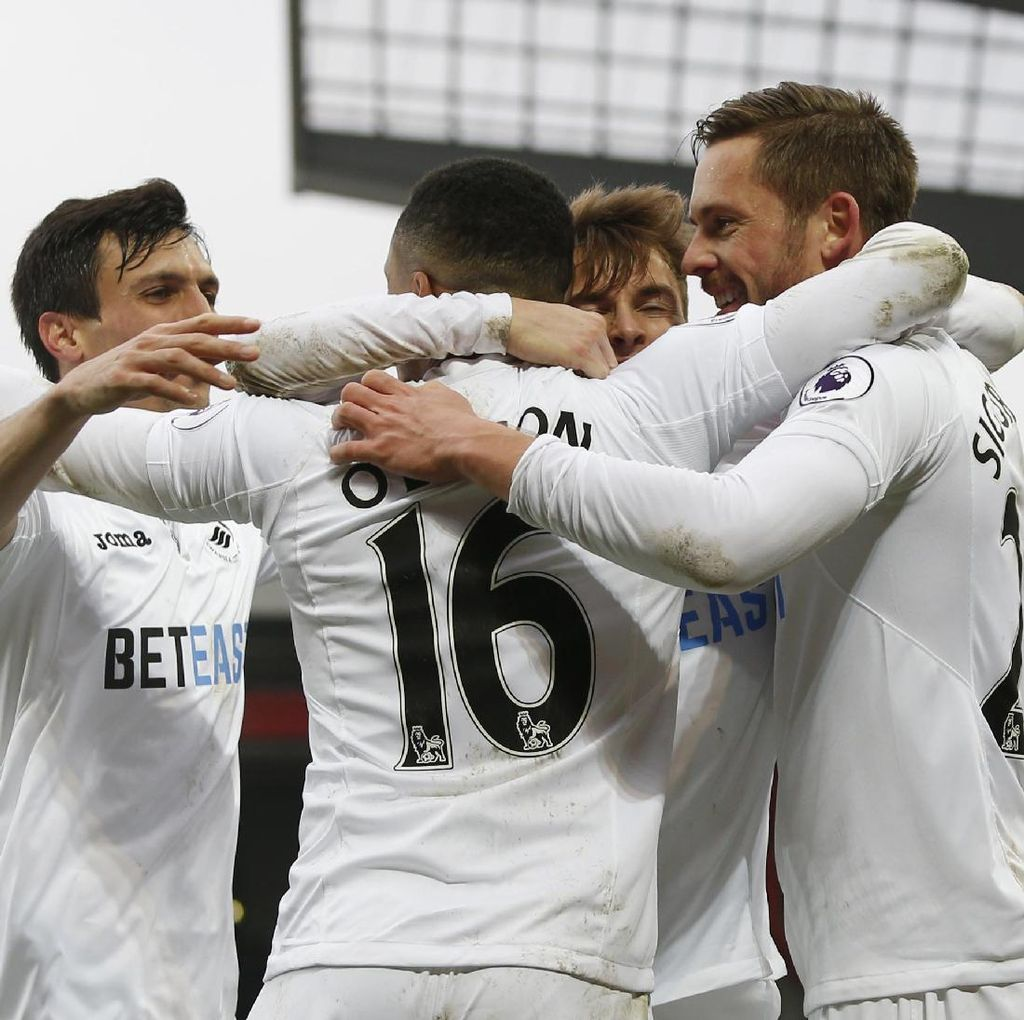 Swansea Memang Pantas Menang
