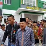 JK Resmikan Rusunawa Pondok Pesantren di Sulawesi Selatan