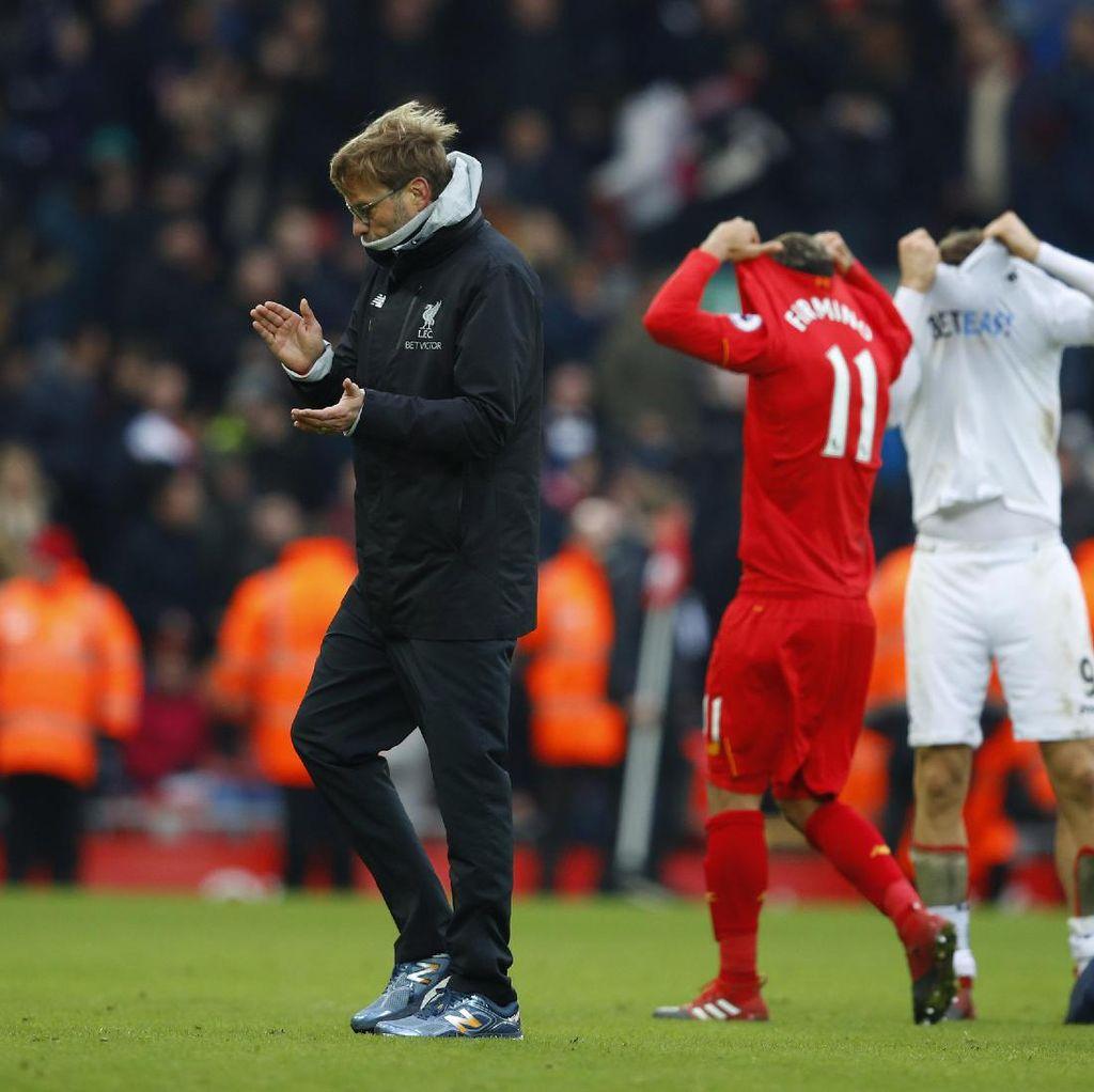 Klopp: Liverpool Banyak Salah, Liverpool pun Kalah