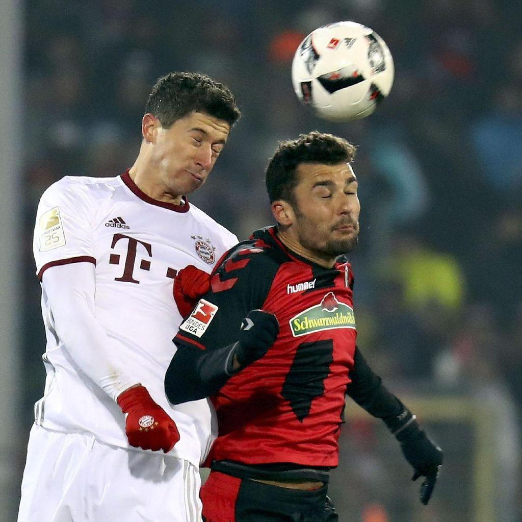 Gol Lewandowski di Masa <i>Injury Time</i> Menangkan Bayern atas Freiburg