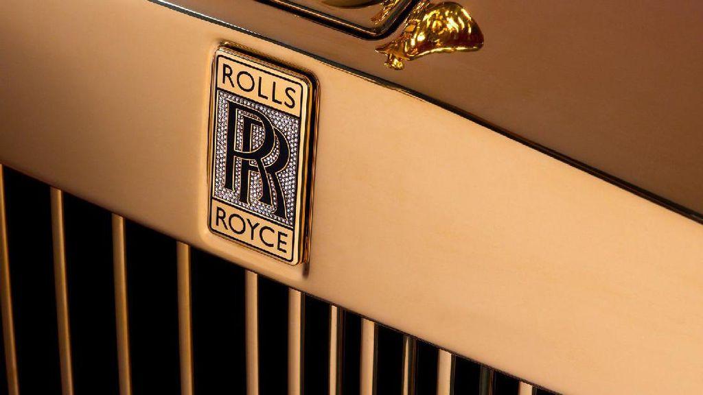 Rolls-Royce Phantom Termahal, Berlapis Emas 24 Karat