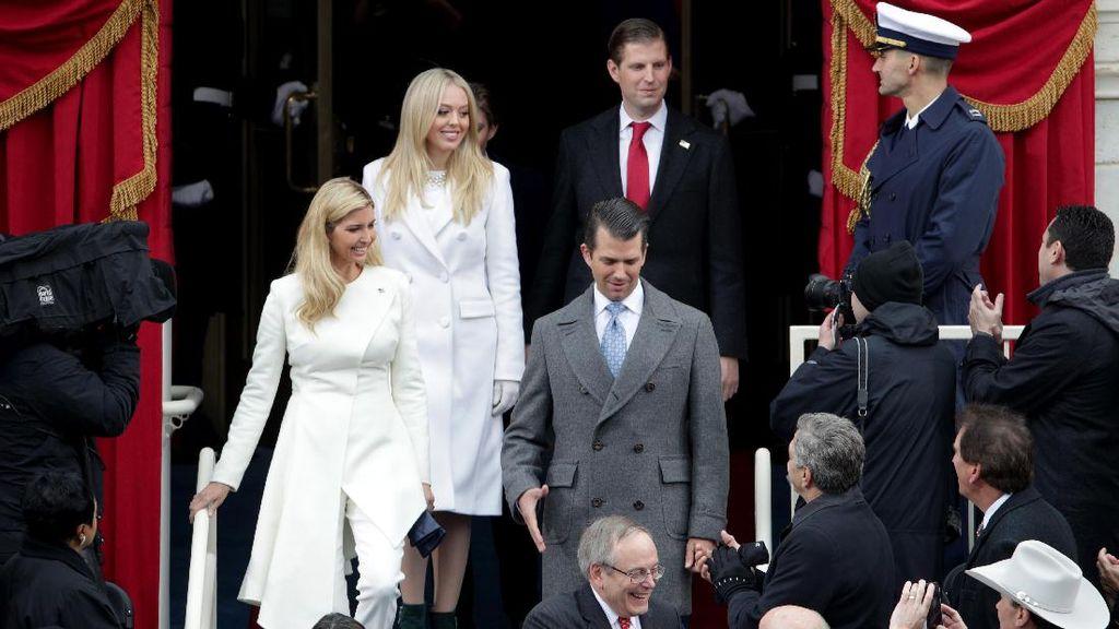 Inaugurasi, Putri Donald Trump dan Hillary Clinton Kompak Berbaju Putih