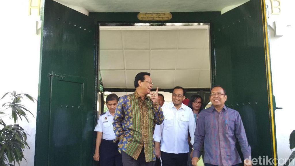 Menhub Temui Sri Sultan HB X Bahas Proyek Bandara Kulon Progo