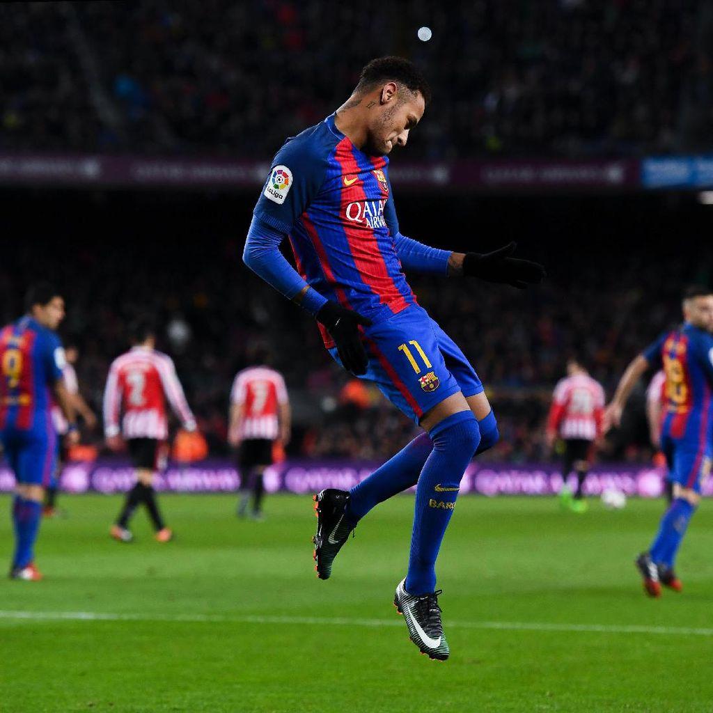 Neymar dan Penalti-penalti yang Dihasilkannya untuk Barcelona