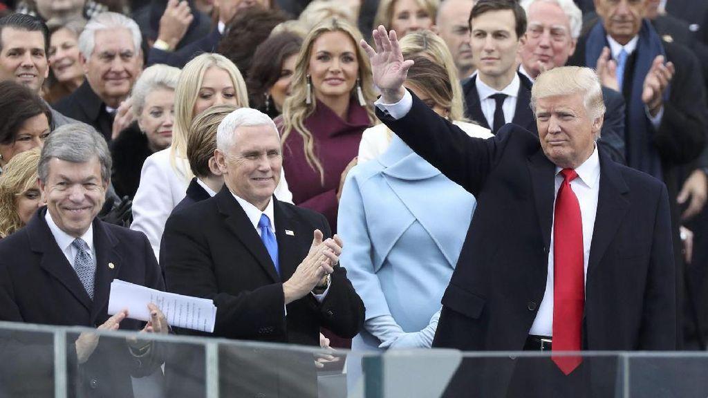 Foto-foto Pelantikan Donald Trump