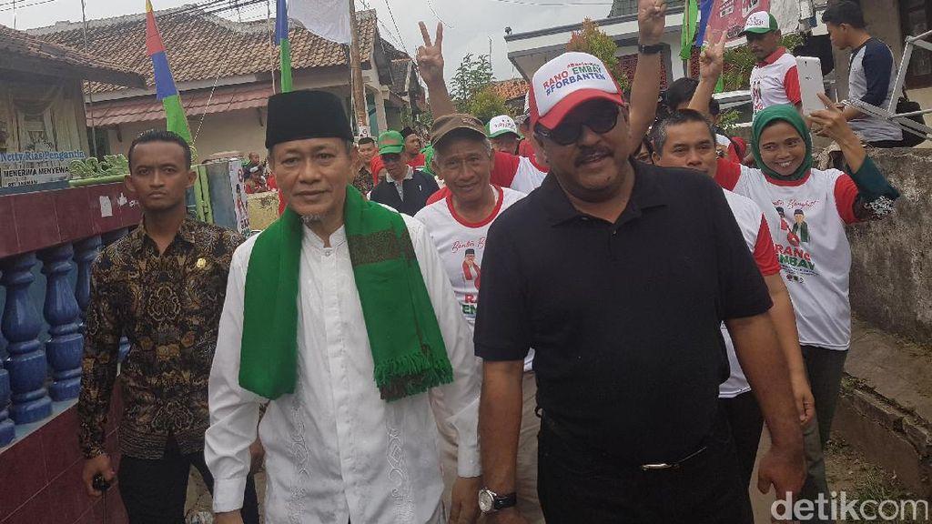 Cagub Rano Karno: Pemimpin Baik Harus Membangun dengan Adil