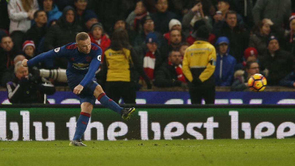 Cetak Gol ke-250, Rooney Top Skorer Sepanjang Masa MU