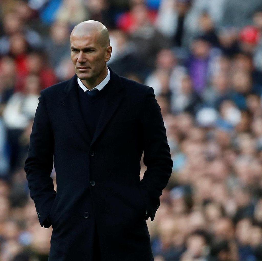 Ada Rasa Frustrasi Zidane di Balik Kemenangan Madrid