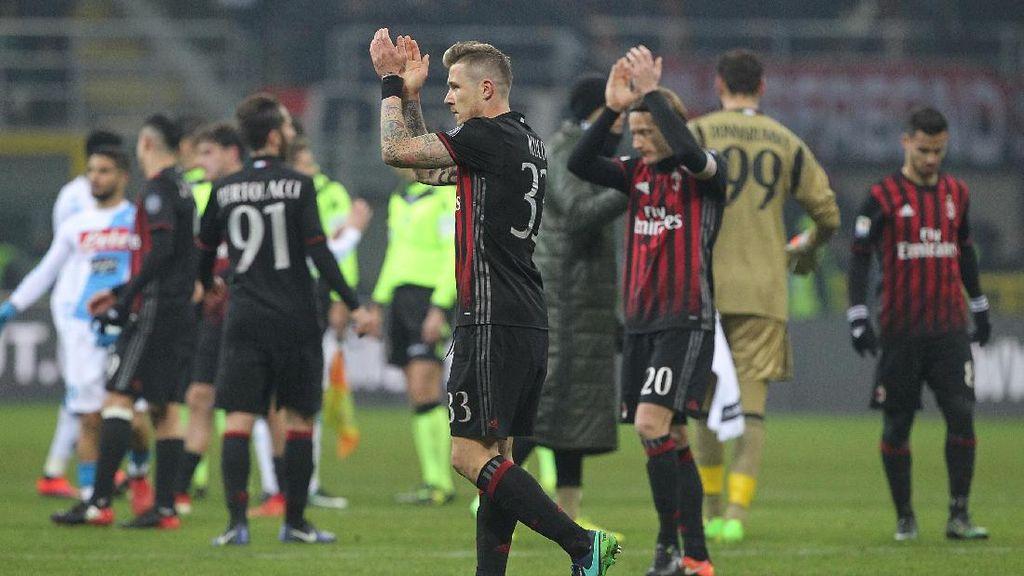 Montella Kecewa dengan Hasil Milan, tapi Puas dengan Performanya