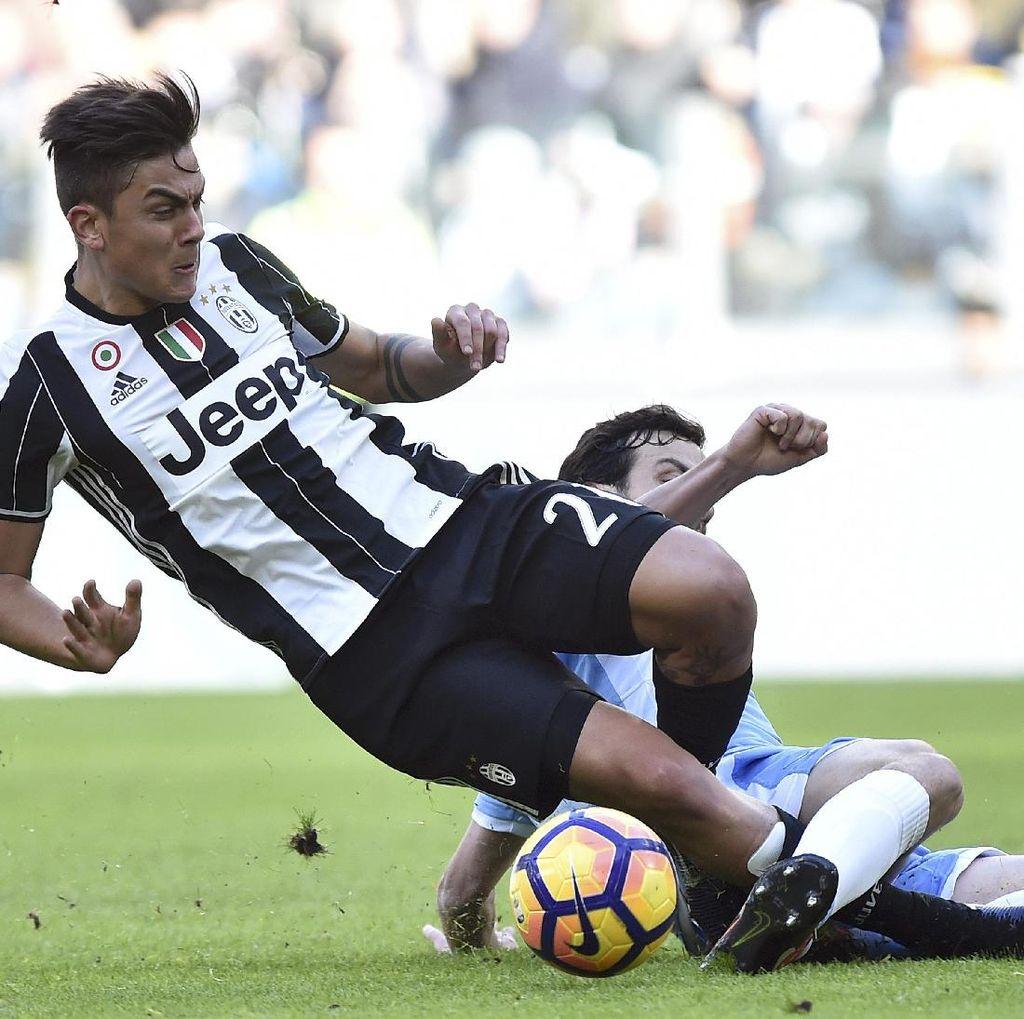 Dybala-Higuain Menangkan Juventus atas Lazio