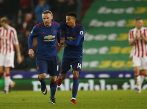 Gol Rooney di <i>Injury Time</i> Selamatkan MU dari Kekalahan