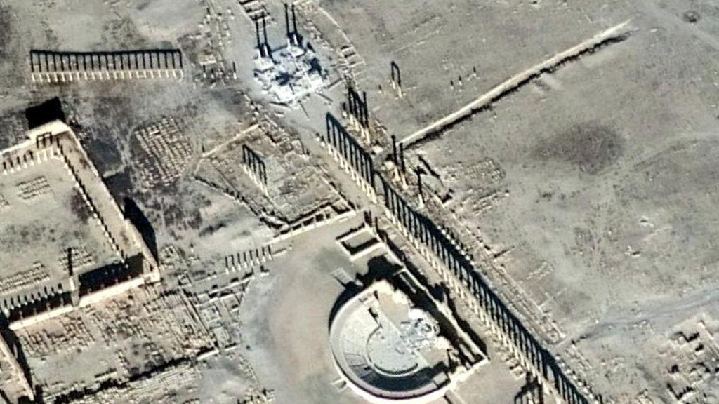 ISIS Melancarkan Lagi Penghancuran Kota Purba Palmyra