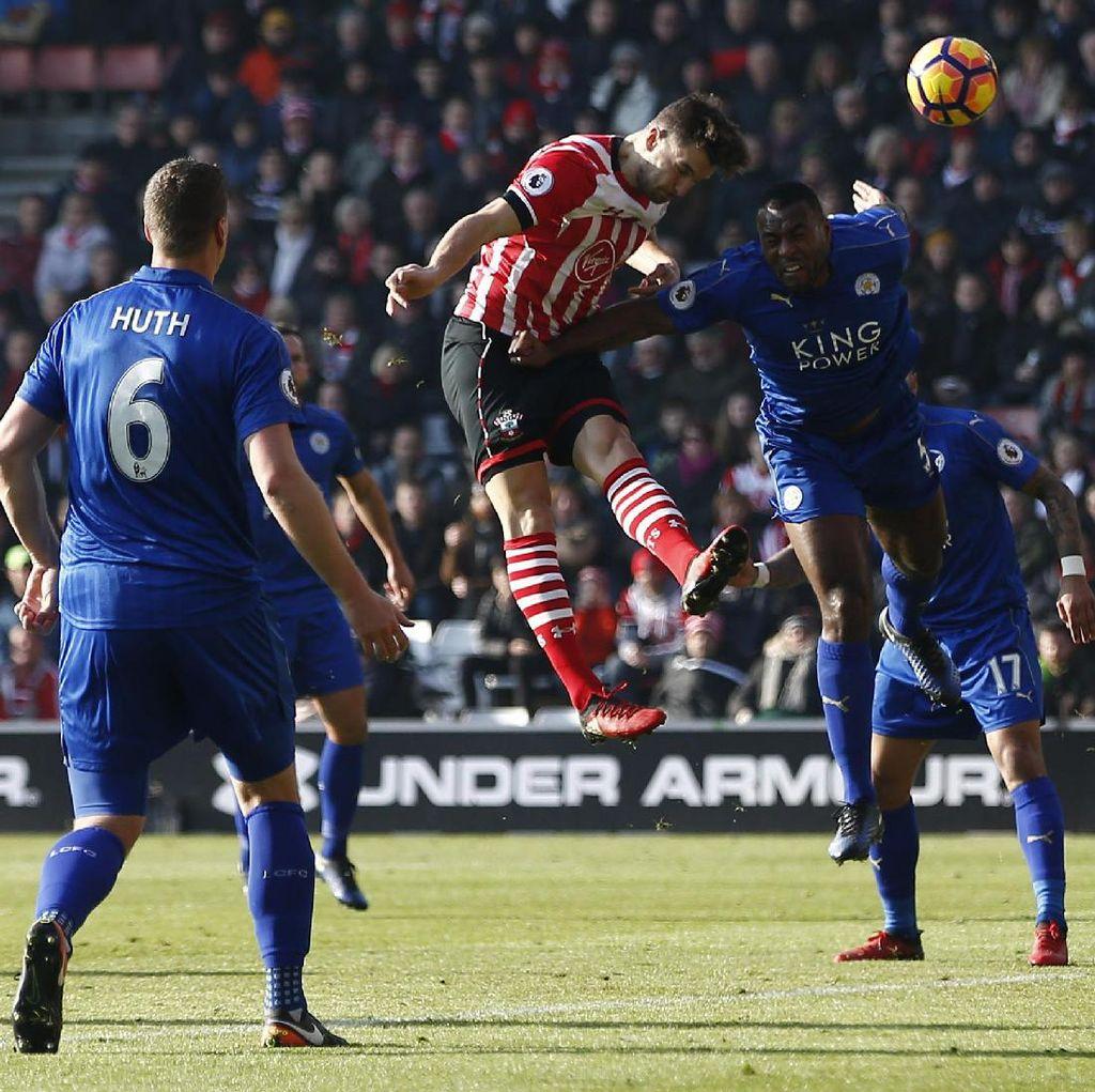 Leicester Dihajar Southampton 0-3