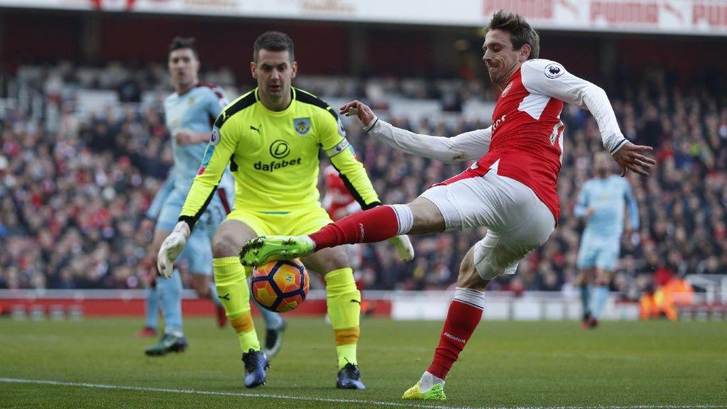 Arsenal Sementara Diimbangi Burnley Tanpa Gol