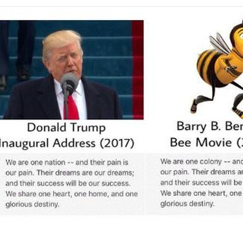 Selain Bane, Donald Trump Juga Contek Bee Movie?
