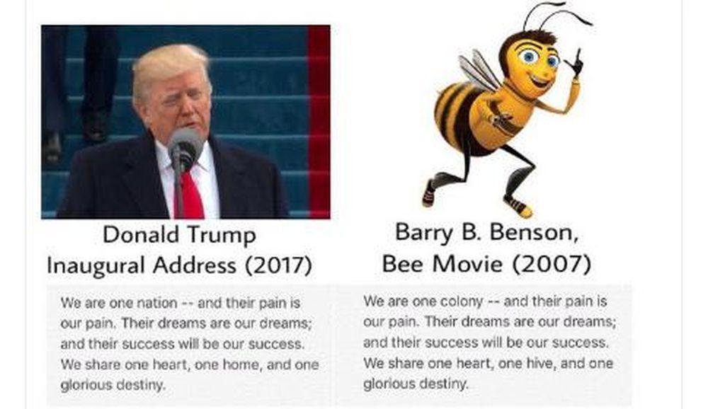 Selain Bane, Donald Trump Juga Contek Bee Movie?