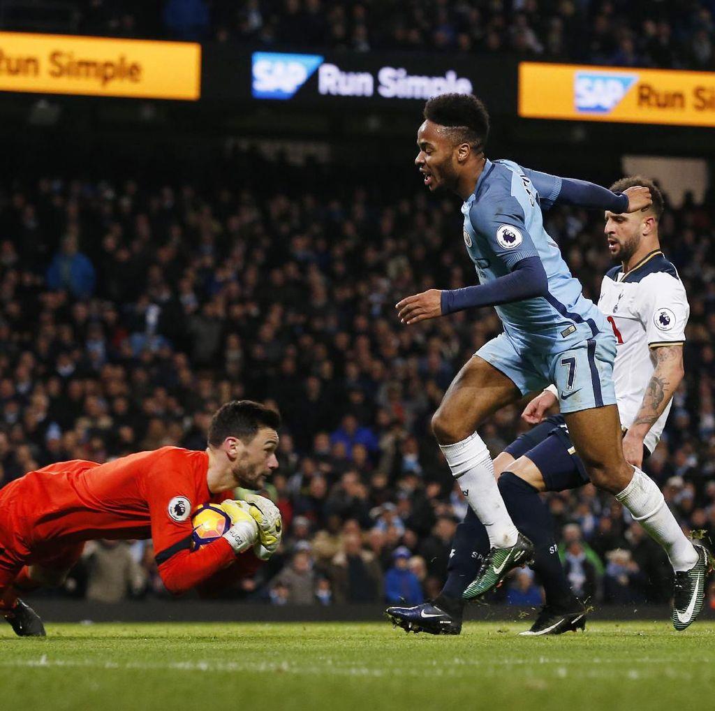 Jika Pakai Teknologi Video, City Harusnya Dapat Penalti Lawan Spurs